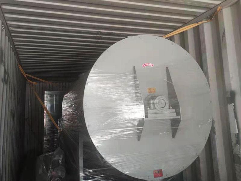 shipment of mortar plant