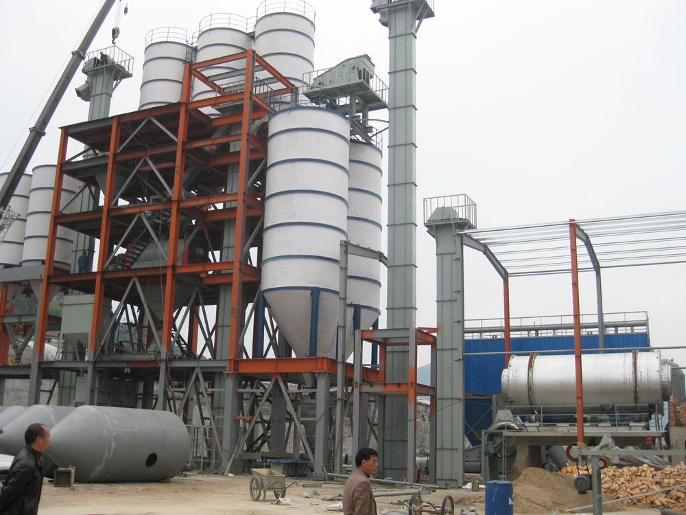 โรงงานกาวกระเบื้องในประเทศจีน